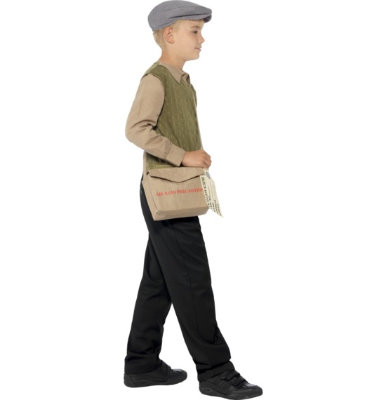 Evacuee Boy Kit by Smiffys