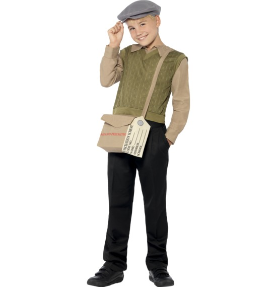 Evacuee Boy Kit by Smiffys