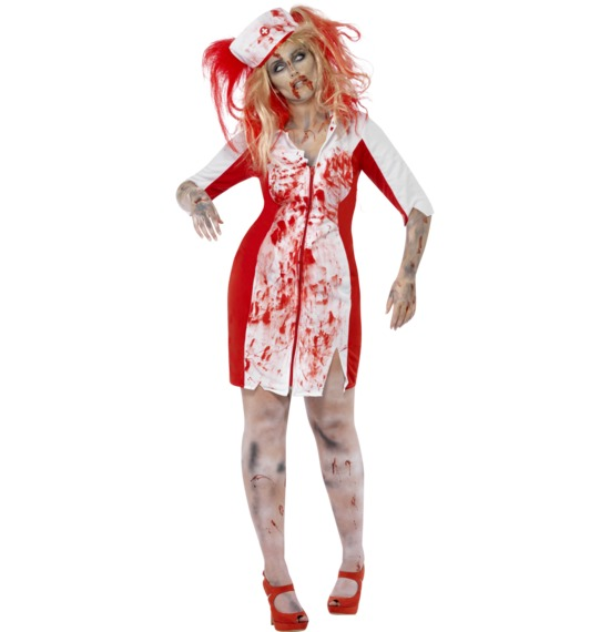 Curves Zombie Nurse Costume by Smffys