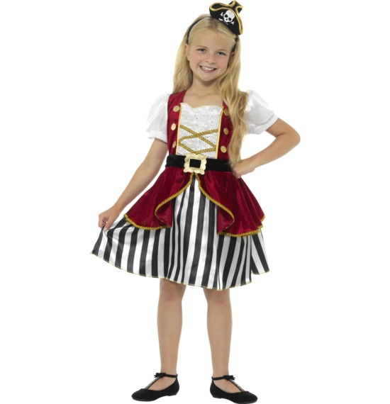 Deluxe Pirate Girl Costume by Smiffys