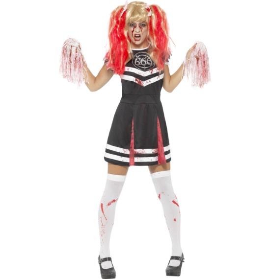 Satanic Cheerleader Costume