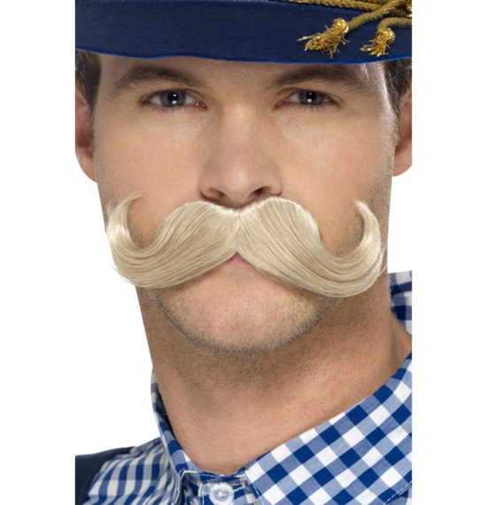 Authentic Bavarian Oktoberfest Moustache