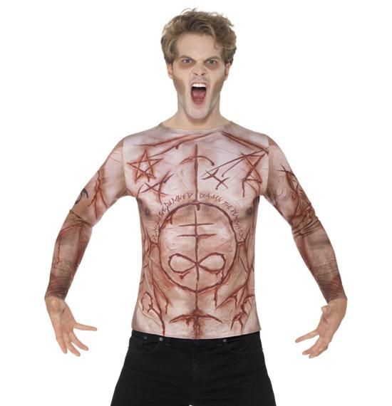 Mutilated Skin T-Shirt by Smiffys