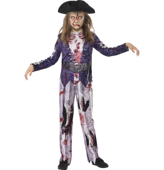 Deluxe Jolly Rotten Pirate Girl Costume by Smiffys