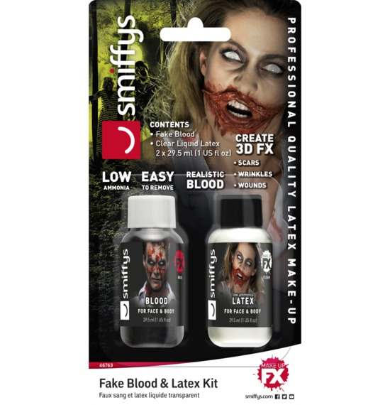 Fake Blood & Latex