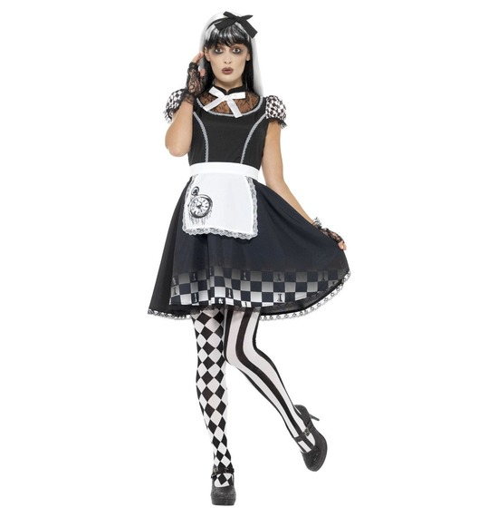 Gothic Alice Costume by Smiffys