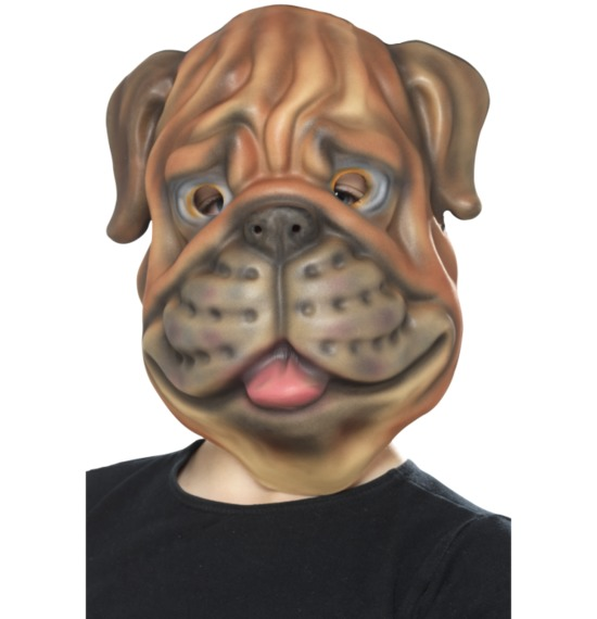 Dog Mask Brown