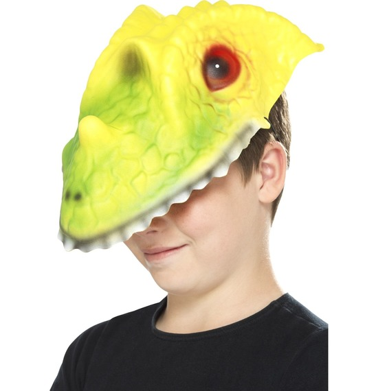 Crocodile Head Mask by Smiffys