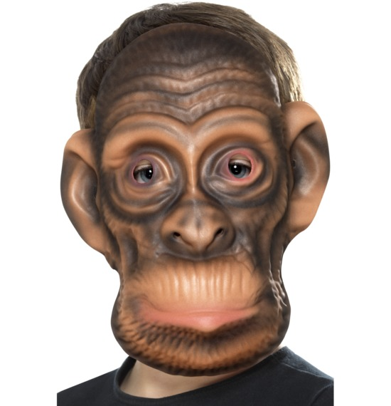 Chimp Mask by Smiffys