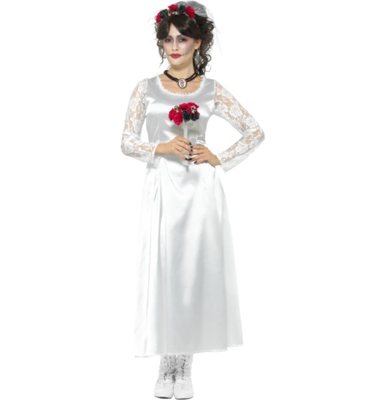 Day of the Dead Bride Costume by Smiffys