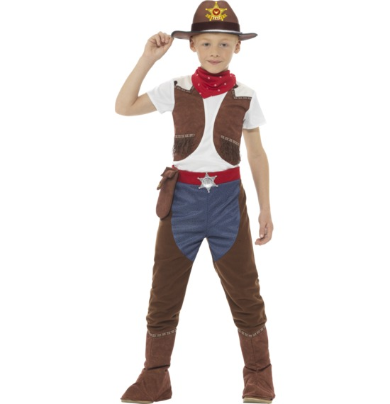 Deluxe Cowboy Costume by Smiffys