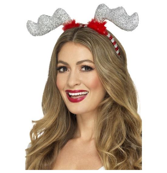 Glitter Reindeer Antlers