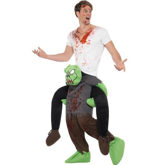 Piggyback Zombie Costume by Smiffys
