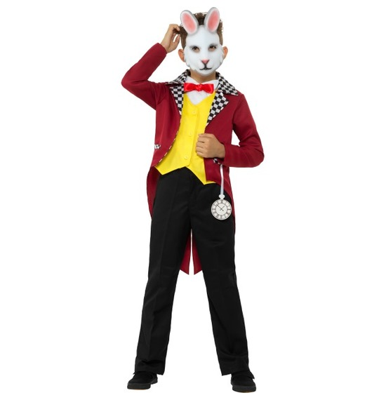 Mr White Rabbit Costume
