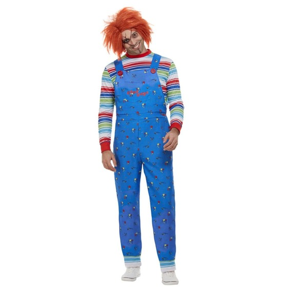 Mens Chucky Costume by Smiffys