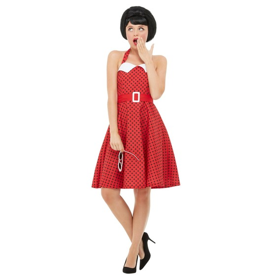 50s Rockabilly Pin Up Costume by Smiffys