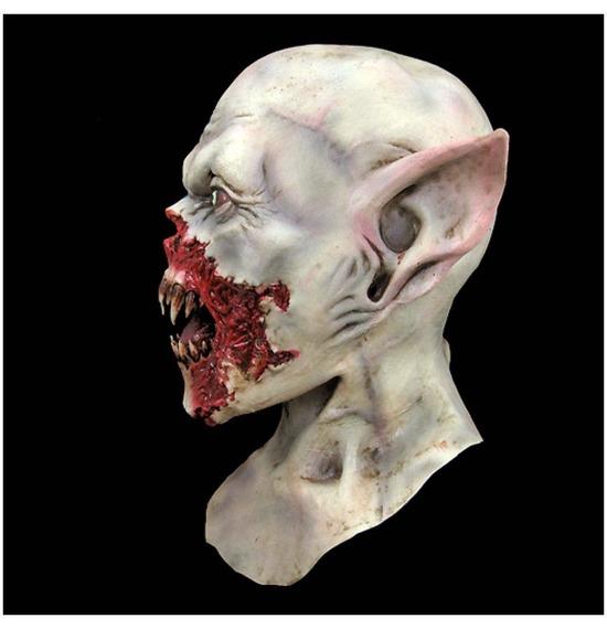 Demon Vampire Kurten Bloody Latex Mask