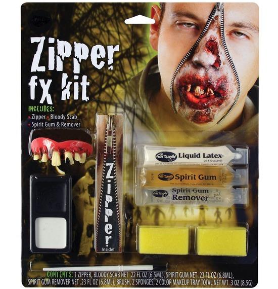 Zipper FX Kit, Zombie Teeth