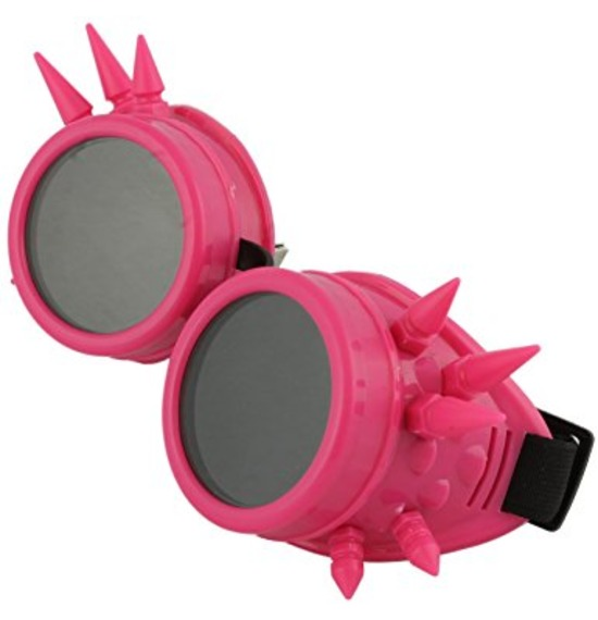 Pink Spike Goggles