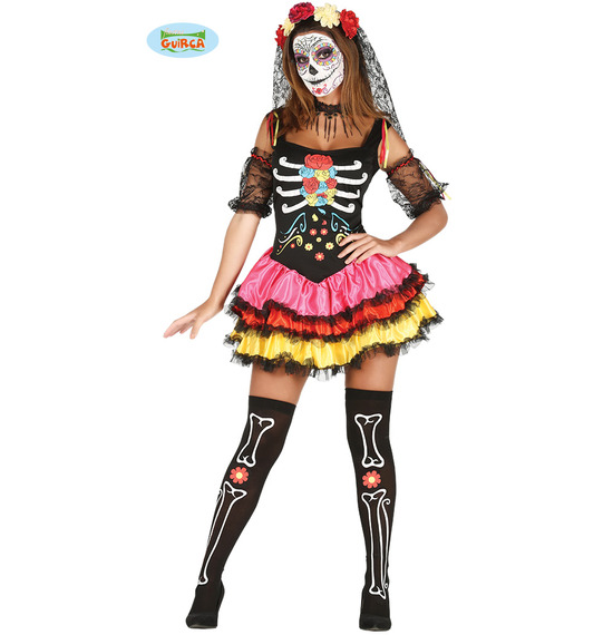 Sugarskull Catrina Costume