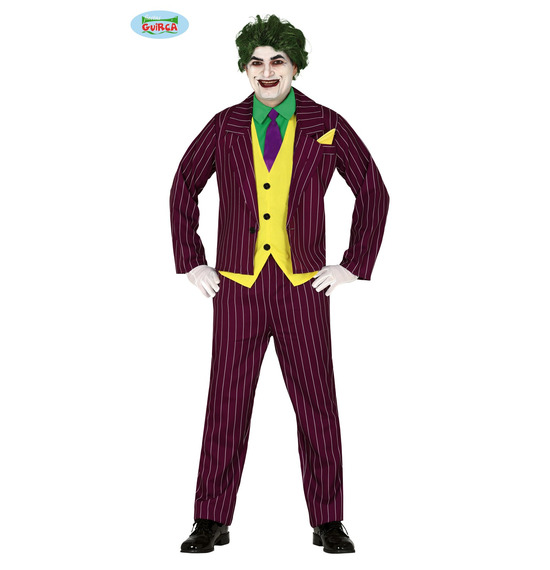 Crazy Villain Costume