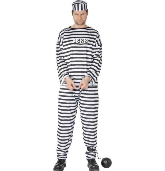 Male Convict Costume