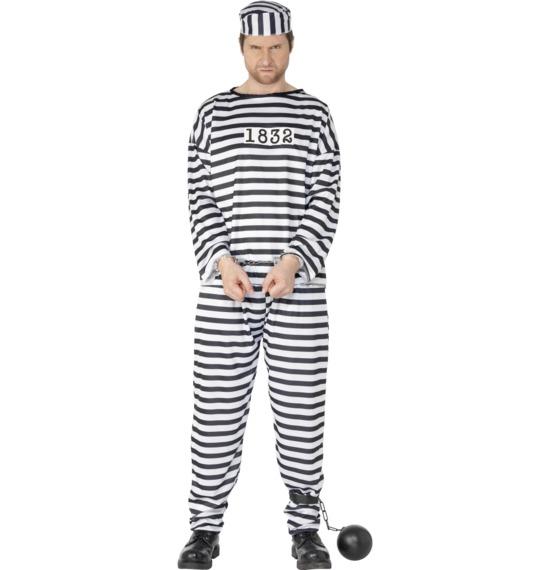 Male Convict Costume