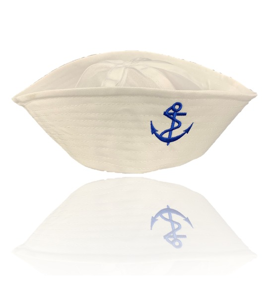 Blue Anchor Sailor Hat