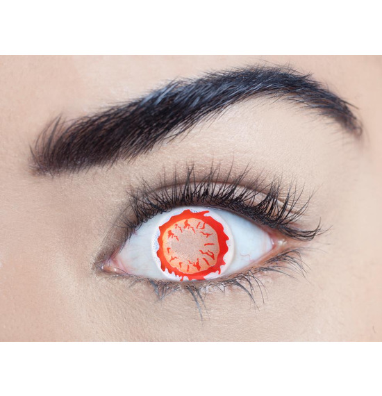 Mesmereyez Blind Afterlife Contact Lenses