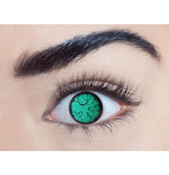 Mesmereyez Blind Alien Contact Lenses
