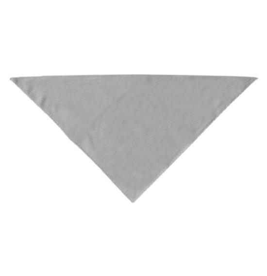 Grey Plain Bandana