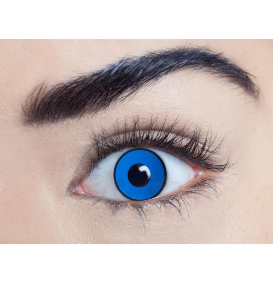 Mesmereyez Billy Boy Blue UV Contact Lenses