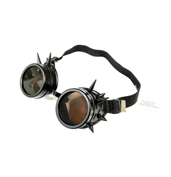 Black Spike Retro Goggles