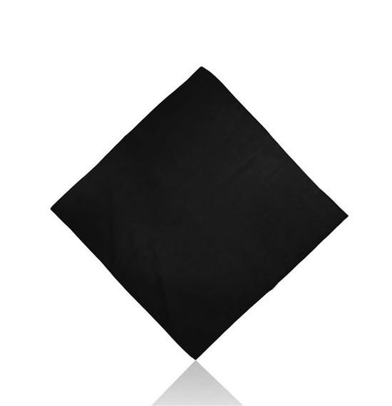 Black Plain Bandana