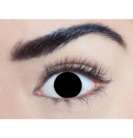 Mesmereyez Blind Black Contact Lenses
