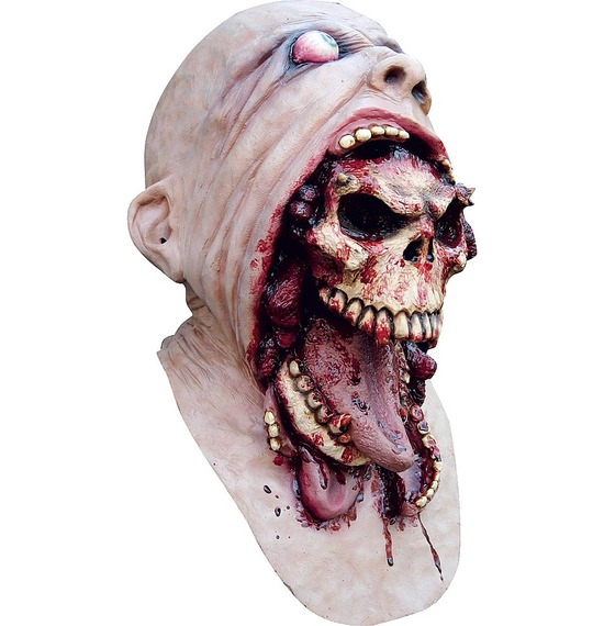 Blurp Charlie Skull Latex Mask