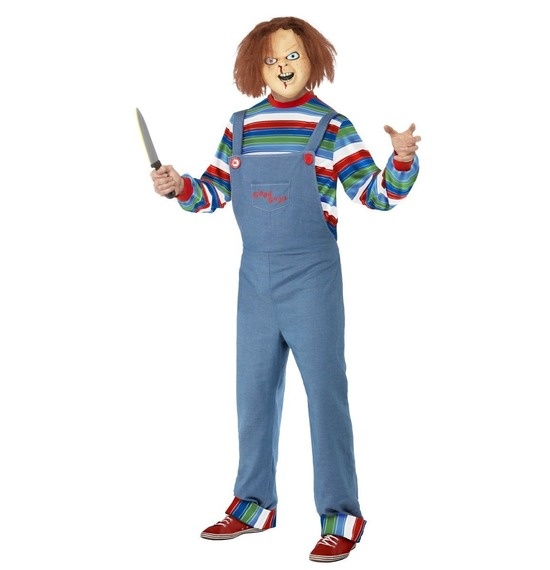 Chucky Mens Costume by Smiffys
