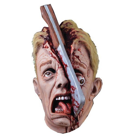 Cleve Hatchet Halloween Gory Mask