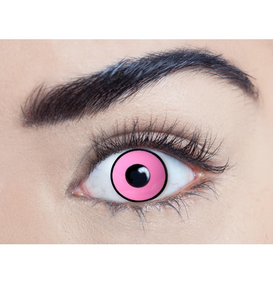 Mesmereyez Climax Pink UV Contact Lenses