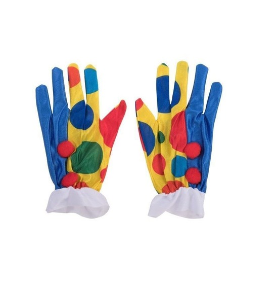 Clown Gloves by Stylex Party