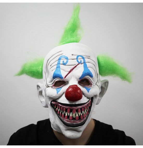 Killer Clown Latex Mask