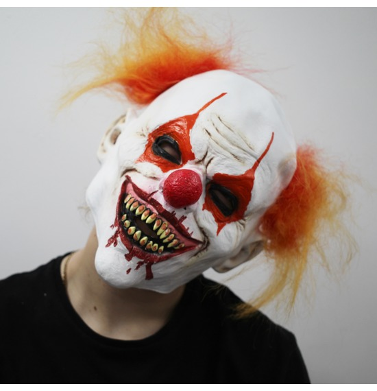 Hungry Clown Latex Mask