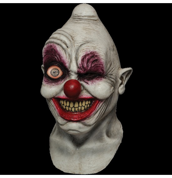 Crazy Eye Clown Digital Mask