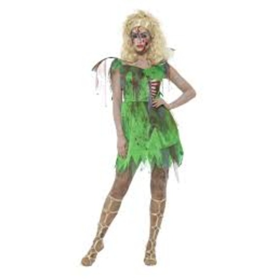 Zombie Fairy Costume by Smiffys