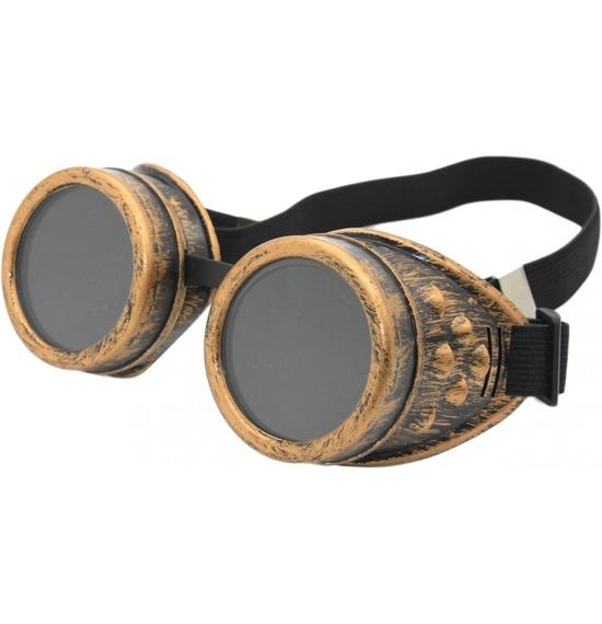 Bronze Retro Goggles