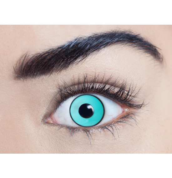 Mesmereyez Eggy Weg Green UV Contact Lenses
