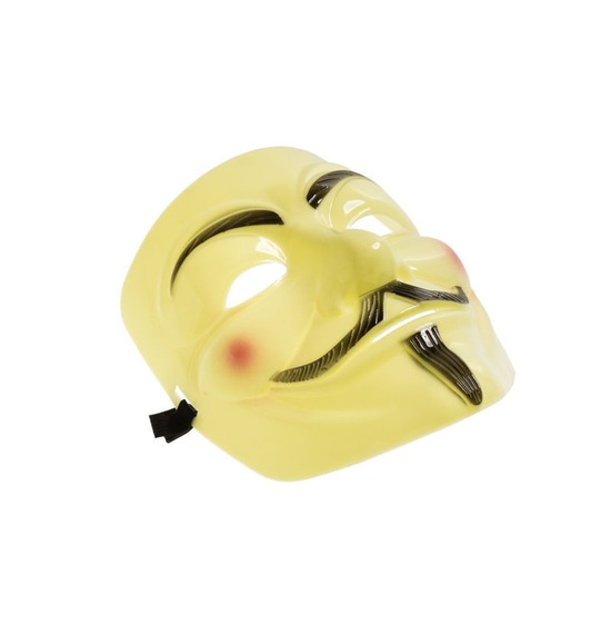 Yellow Vendetta Mask