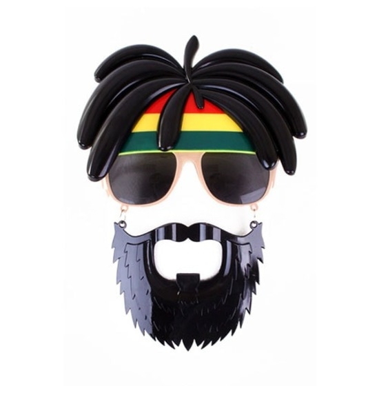 Rasta Face Sun Glasses
