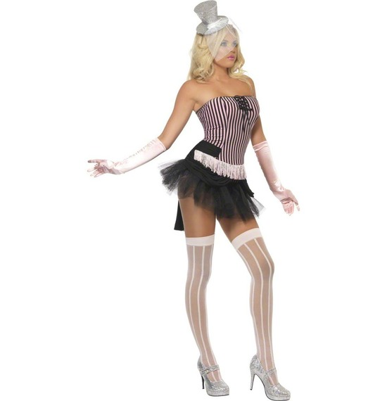 Fever Fringe Stripe Burlesque