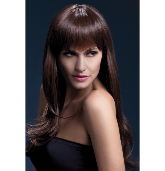 Fever Sienna Wig, Long, Wavy, Two Tone,Brown